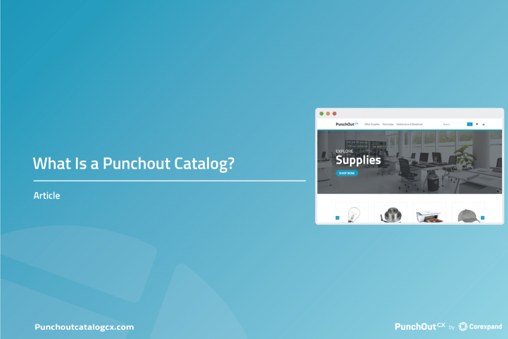 What is a Punch Out Catalog?